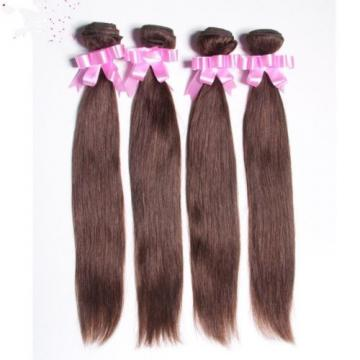 8A 400g/4bundles unprocessed peruvian virgin straight human hair 14,16,18,20