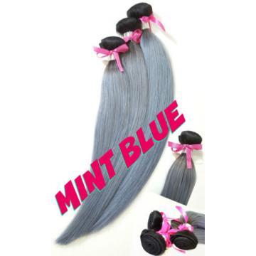 """12""""-26"""" Thick Virgin Remy Brazilian Black Grey Human Hair Weave Bundle 300 Lot"""