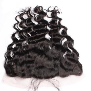 Luxury Virgin Peruvian Loose Wave Lace Frontal Closure 13x4 Virgin Hair 7A
