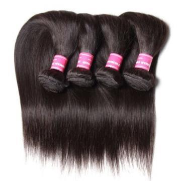 ALI JULIA Wholesale 7A Peruvian Straight Virgin Hair Weave 3 Bundles 100% Unproc