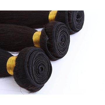 Cool2day 100% Peruvian Virgin Straight Human Hair Weave Extension Unprocessed