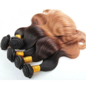 Luxury Peruvian Honey Blonde Ombre #27 Body Wave Virgin Hair Extensions
