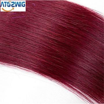 ATOZWIG 6A Omber Peruvian Virgin Hair Straight 1B/99J 3 bundles 12-28inch 100% H