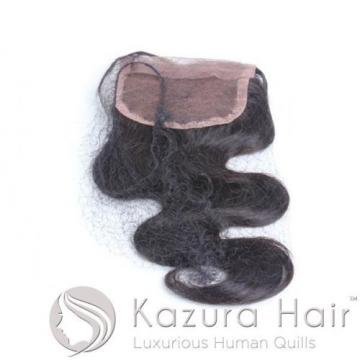 "Kazura Hair 12"" Peruvian Body Wave Lace Top Virgin Remy Closure - QUICK SHIP"