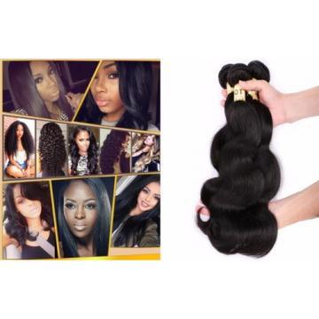 Virgin Brazilian/Peruvian/Indian Human Hair Extensions 4 Bundles/400g Body Wave