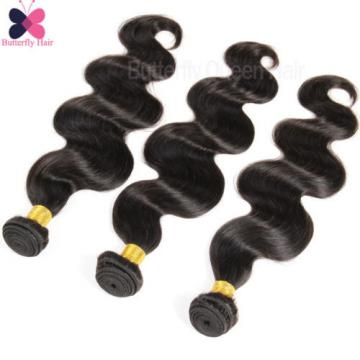 3Bundles/300G Body Wave Virgin Brazilian/Peruvian/Indian Human Hair Extensions