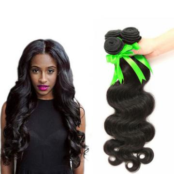 3 bundles 150g Peruvian Human Hair Extensions Virgin Body Wave human hair weft