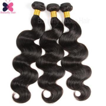 3 Bundles/300g Peruvian Body Wave Remy Human Hair Weave Virgin Hair Extensions