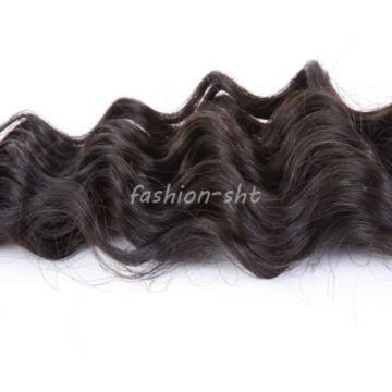 2 Bundle Peruvian Virgin Real Deep Wave Hair 100% Human Hair Extensions Weave