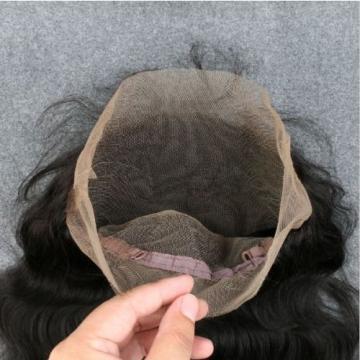 7A  Peruvian Virgin Human Hair 360 Lace Frontal Closure With 3 Bundles Hair