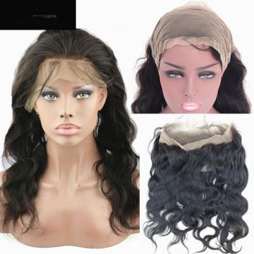 Peruvian Virgin Human Hair 360 Lace Frontal Closure Body Wave Full Lace Closure
