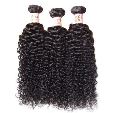 100% Unprocessed 7A Peruvian Curly Virgin Human Hair Extensions 3 Bundles/150g