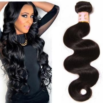 100g Unprocessed Peruvian Virgin Hair Body Wave Human Hair Extensions 1 Bundle