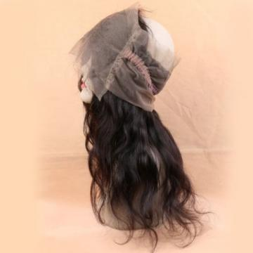 Peruvian Virgin Hair 360 Lace Frontal Closure Body Wave Full Lace Brand Closue