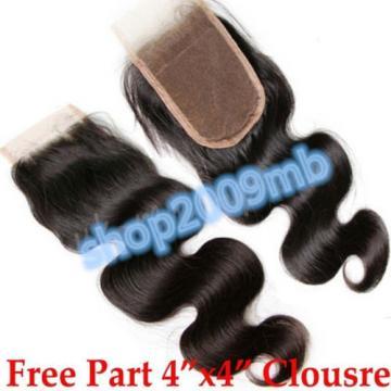 100% Unprocessed Brazilian Peruvian Virgin Human Hair Weave 8A 300g 3bundles