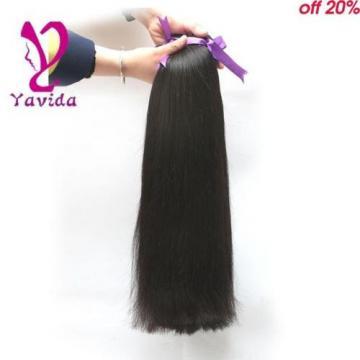 7A Virgin Peruvian Straight 100% Unprocessed Human Hair Extensions 300g/3Bundles