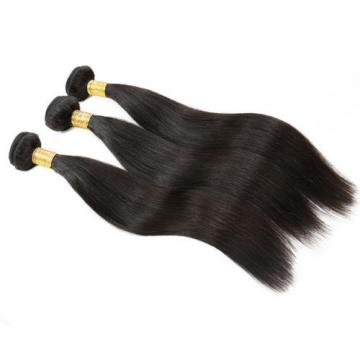 7A Unprocessed Peruvian Virgin Hair Long Staight Weft Remy Hair Extension 26inch