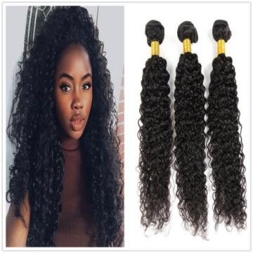 "7A Peruvian Virgin Human Hair Wefts Kinky Curly Hair Extensions 300G 22""+24""+26"""
