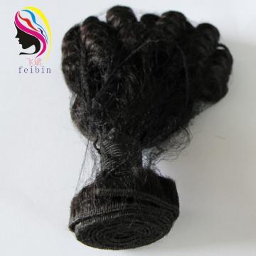 feibin factory cheap bouncy curls unprocessed 100% human hair virgin hair