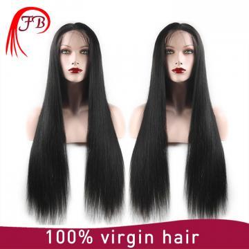 Hot sale unprocessed Lace Front Human Hair Wigs Brazilian Virgin Hair