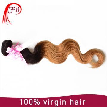 1B/27# Brazilian human hair body wave hair ombre 8-20 inch human hair weave extension
