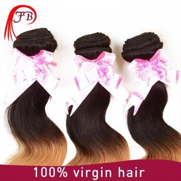 Brazilian human hair cheap ombre body wave hair 8-20 inch human hair weave extension