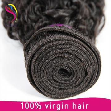 grade 7A malaysia hair kinky curly 100% hair product virgin hair weft