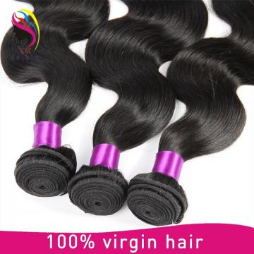 High quality virgin hair body wave 100% unprocessed human Peruvian hair extensions
