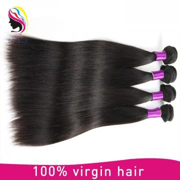 100 pure virgin human hair straight hair peruvian hair extension
