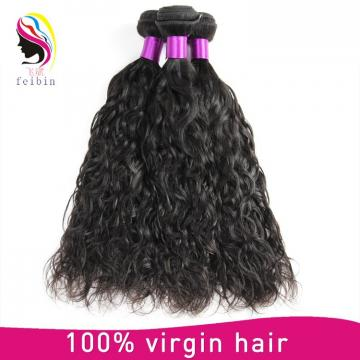 100% natural hair extension natural wave brazilian human hair
