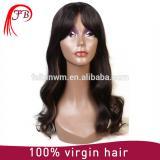 Aliexpress perfect malaysian hair bob bangs human hair wig manufacturer in China