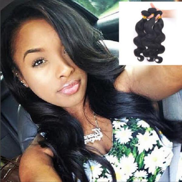 Top Quality 7A Hair Weft 3 Bundles Peruvian Virgin Hair Body Wave #1 image