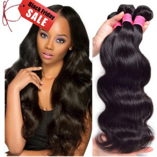 High Quality Body Wave Peruvian Hair Bundles 300g Peruvian Virgin Hair Weave #1 image