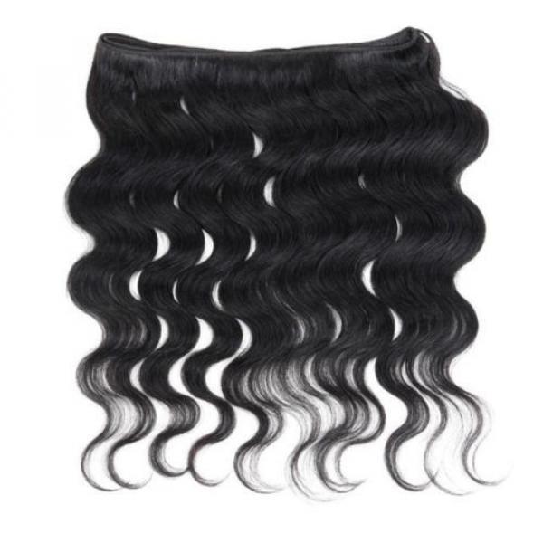 Virgin Brazilian/Peruvian/Indian Human Hair Extensions 3 Bundles/300g Body Wave #5 image