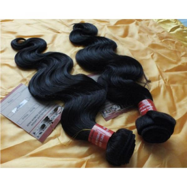 Brazilian Hair Products 3 Bundle/300g Human Hair Extension 100% Virgin #3 image