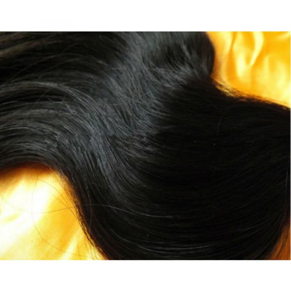 Brazilian Hair Products 3 Bundle/300g Human Hair Extension 100% Virgin #4 image