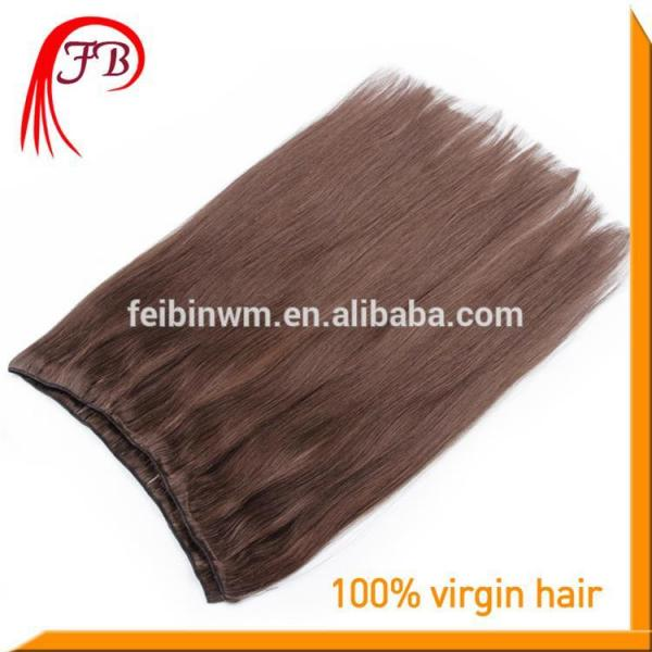 Fashion hot sale Brazilian virgin straight hair weft 100% real Brazilian hair #1 image
