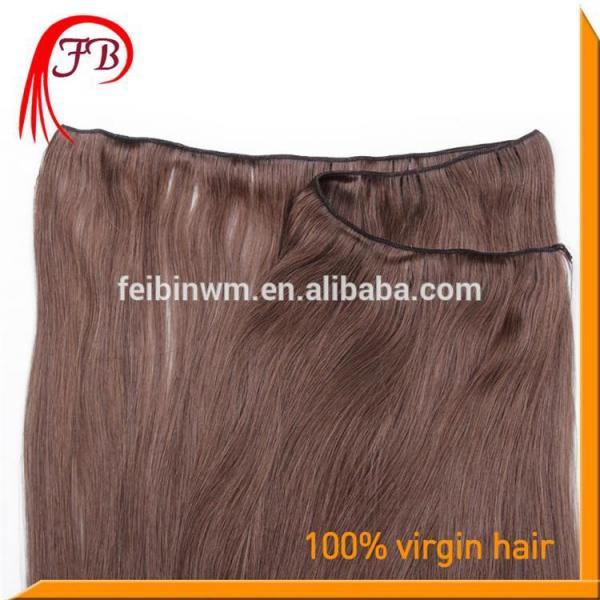 Fashion hot sale Brazilian virgin straight hair weft 100% real Brazilian hair #4 image