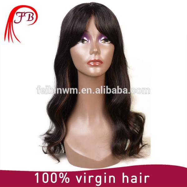 Aliexpress perfect malaysian hair bob bangs human hair wig manufacturer in China #1 image