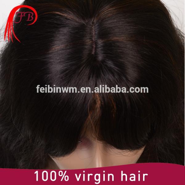 Aliexpress perfect malaysian hair bob bangs human hair wig manufacturer in China #3 image