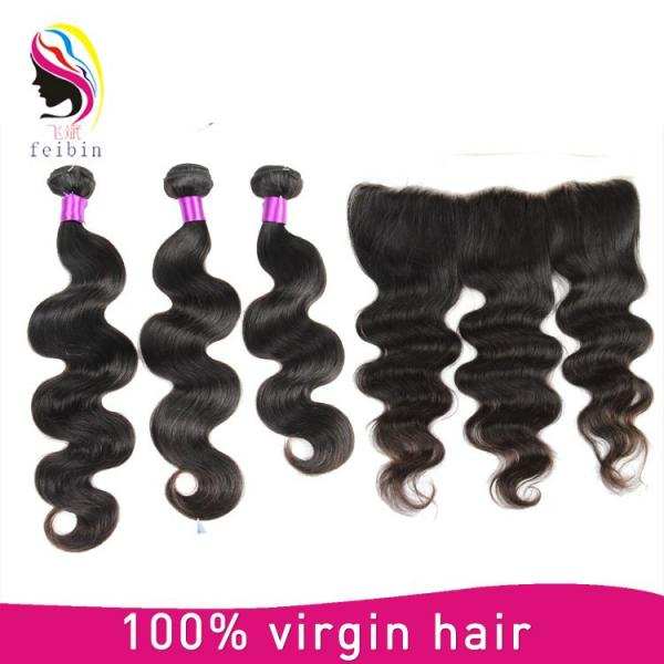 halo hair extensions brazilian body wave cheap hair #1 image