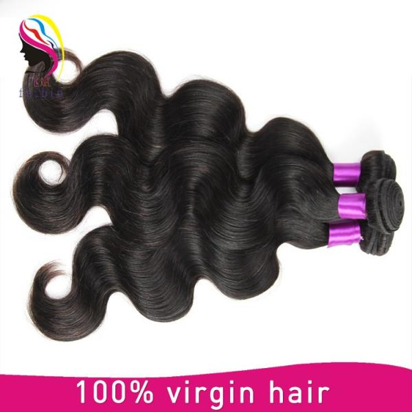 halo hair extensions brazilian body wave cheap hair #2 image