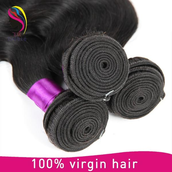 halo hair extensions brazilian body wave cheap hair #3 image